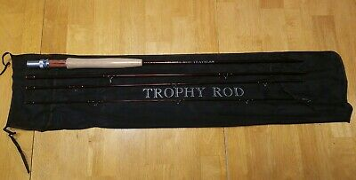 $65 • Buy Trophy Rod Traveler IM-6 Graphite Fly Rod 8'6   5 6 Wt. 4 Piece Travel Free Ship