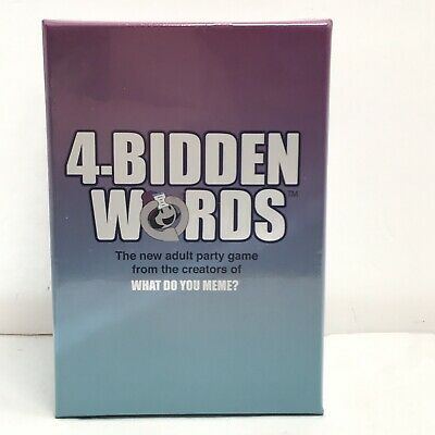 AU27.46 • Buy 4-bidden Words  What Do You Meme Adult Party Game.