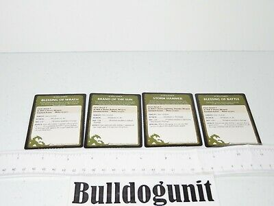 AU8.33 • Buy 2011 Dungeons & Dragons Starter Set Board Game Lot 4 At Will Cleric Card Part