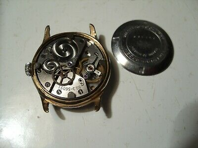 $ CDN59.13 • Buy GUB Glashütte Vintage Watch Cal.: 60.3 For PARTS Or REPAIR