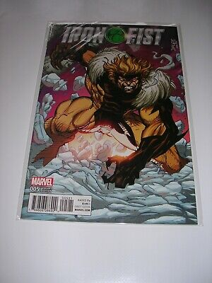 Marvel Comic EXCELLENT CONDITION BAG & BOARD Iron Fist #005 Variant Edition • 2.99£