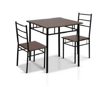 AU103.50 • Buy Industrial Dining Room Kitchen Breakfast Dinner Table And Chairs Furniture Set