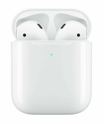 $ CDN115.63 • Buy Apple AirPods 2nd Generation With Wireless Charging Case- With Ear Plugs Covers