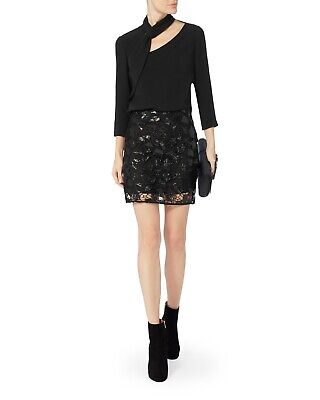 $ CDN63.52 • Buy $315 NWT Iro Juva Black Sequin Mini Skirt Sz 34 XS