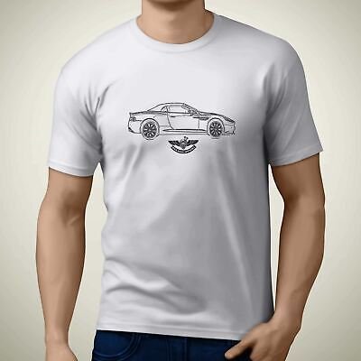 Aston Martin DB9 Volante 2016 Side Premium Motorcycle Art Men'Äôs T Shirt • 19.99£