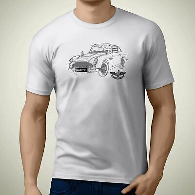 Aston Martin DB5 007 1965 Side Premium Motorcycle Art Men'Äôs T Shirt • 19.99£