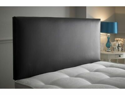 Plain 20  Headboard | Faux Leather | Suede | Crushed Velvet | Chenille All Sizes • 45£