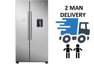 View Details Hisense RS741N4WC11 Stainless Steel American Fridge Freezer + 5 YEAR WARRANTY • 579.99£