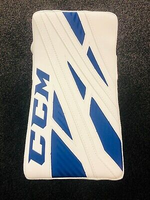 $2000 • Buy CCM E Flex 4 Custom Pro BLUE/WHT Hockey Goalie Pads/Glove/Blocker - Senior 34+2