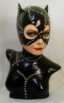 $ CDN1448.96 • Buy Michelle Pfeiffer Catwoman Bust Lifesize 1:1 Batman Returns Figure Not Hot Toys
