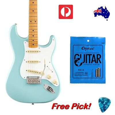 AU9.95 • Buy Electric Guitar Strings Orphee Premium Universal Light 09-42 Steel Free Pick