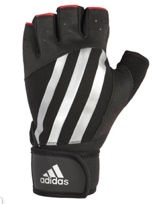 £15.95 • Buy Adidas Elite Weight Lifting Gloves Gym Bodybuilding Training Workout XXL A552-30