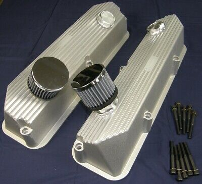 $439 • Buy Valve Covers Ford FE Finned Pentroof Cast Aluminum 352 390 427  428 FE Power