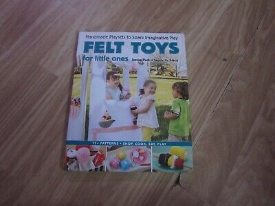 Felt Toys For Little Ones Book With Cd-rom 75+ Patterns/toys To Sew & Create  • 7£