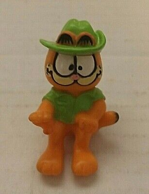 1981 Cowboy Garfield Figure United Feat Synd • 1.44£