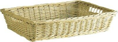 £9.99 • Buy Christmas Hamper Basket Wicker Storage Tray Gift Bread Display Large Or Small