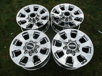 $999.99 • Buy 20'' OEM F250 F350 Factory PVD Chrome Wheels Rims 10100 2011 - 2019 20x8