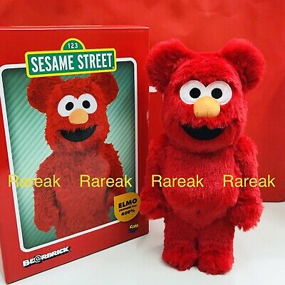 $291.99 • Buy Medicom Be@rbrick 2020 Sesame Street Elmo Flocky Costume Ver 400% Bearbrick 1pc