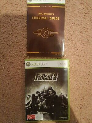 AU13.50 • Buy Fallout 3 - Xbox 360 - PAL - With Manual