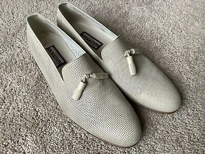 $ CDN209.18 • Buy Mens Star Artioli Loafers Shoes Perforated Beige 9.5D