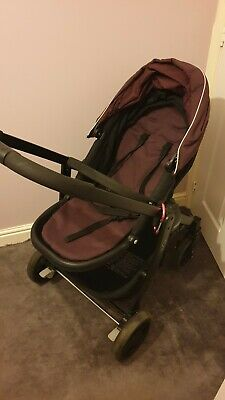 Graco EVO Plum Travel System With Stand • 39£
