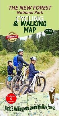 £3.95 • Buy New Forest Cycling & Walking Map - Covers The Whole New Forest National Park
