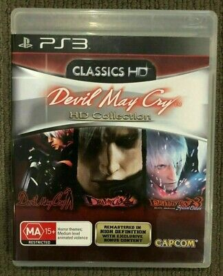 AU15 • Buy Devil May Cry Classics HD Collection For Sony Playstation 3 PS3