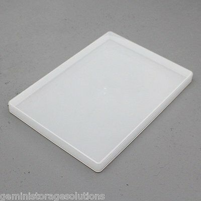 Clear Plastic A4 Slim Craft Paper/Card Storage Boxes • 6.99£