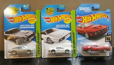 $ CDN20.06 • Buy Hot Wheels James Bond 007(Aston Martin, Lotus Esprit, 71 Mustang) 2014,15,18 NEW