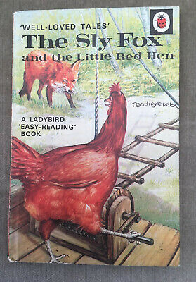 Vintage Ladybird 'WLT' The Sly Fox And The Little Red Hen Book Series 606D 40p  • 6.89£