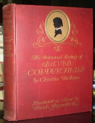 1911, CHARLES DICKENS, DAVID COPPERFIELD, ILLUSTRATED By FRANK REYNOLDS, VG • 37.83£