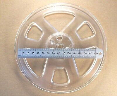 £6.95 • Buy 17.5cm 7  Inch Reel-to-Reel Recording Empty Take Up Tape Spool By Quantegy