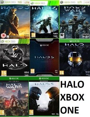 £5.99 • Buy Xbox One Halo Xbox One Xbox 360 Backward Compatible Assorted MINT - FAST DELIVER