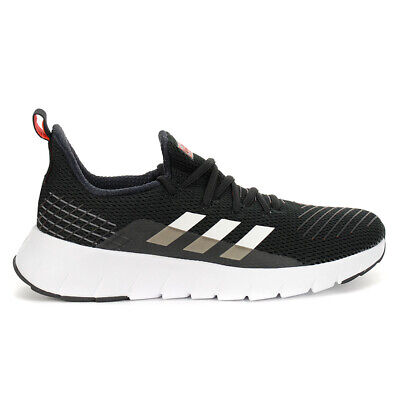 $ CDN89.99 • Buy Adidas Men's Asweego Core Black/Cloud White/Solar Red Running Shoes F37038 NEW