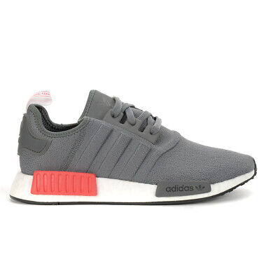 $ CDN139.99 • Buy Adidas Men's NMD_R1 Grey Four/Shock Red Shoes BD7730 NEW