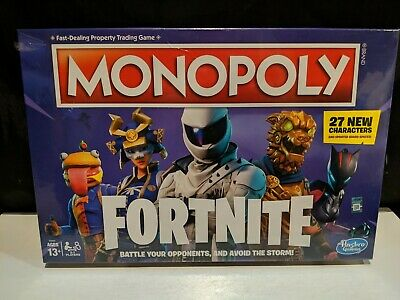 $24.99 • Buy Monopoly: Fortnite Edition Board Game - Newest Edition - 27 New Characters [NEW]
