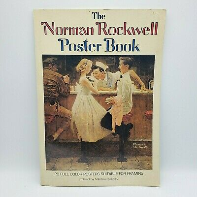 $ CDN24.59 • Buy The Norman Rockwell Poster Book 20 Full Color Posters Edited By Michael Schau