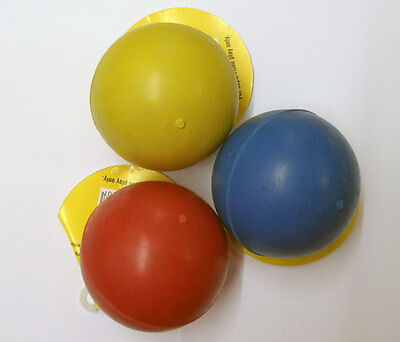 £8.29 • Buy DOG TOYS: 2 X Classic Large 3 Inch Tough Solid Rubber BALLS SPECIAL OFFER PRICE
