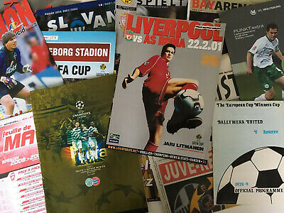 AU54.32 • Buy European/Uefa Football Comp. Programmes *Choose From List* Discount Available!
