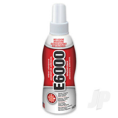 £9.94 • Buy Eclectic E6000 Spray Adhesive Glue Clear 4oz (118.2ml)