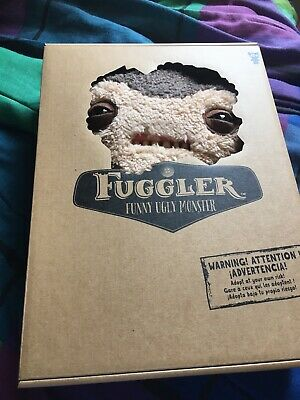 $ CDN60 • Buy Spin Master FUGGLER Funny Ugly Monster Fuzzy Brown Lil Demon 12 In Rare NEW