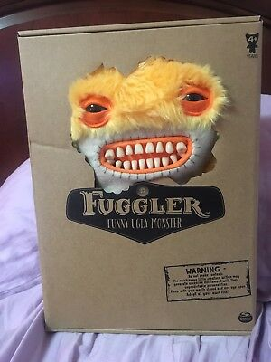 "$ CDN50 • Buy Fuggler Very Rare 12"" Deluxe Yellow Awkward Bear Series 3"