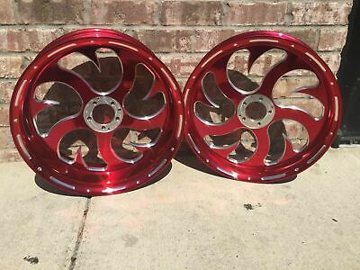 $2599.99 • Buy GSXR1000 240 CANDY RED SHARK WHEEL PACKAGE FOR 2001-2004 Suzuki GSXR1000