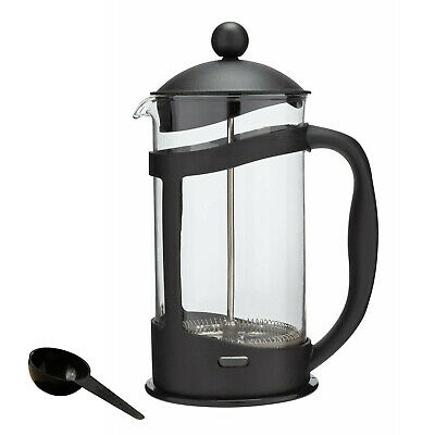 Coffee Maker Home 8 Cup 1L Cafetiere Plunger French Press Black Tea Americano • 10.99£
