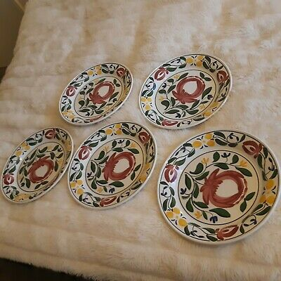 Portmeirion Welsh Dresser 10 1/2 Inch Dinner Plate Anghared Menna • 15£