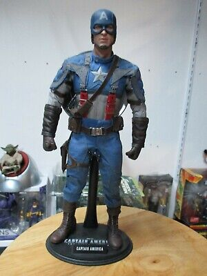 $ CDN151.39 • Buy Hot Toys Captain America 1/6 Figure 12 Inch First Avengers Loose Great Shape