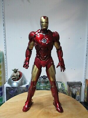 $ CDN188.91 • Buy Hot Toys Iron Man 1/6 12 Inch Figure Avengers Loose Great Shape