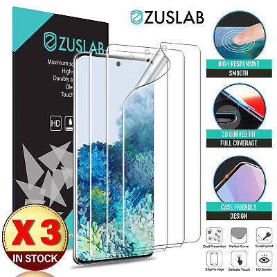 AU8.95 • Buy 3XGalaxy S20 Plus Ultra S10 Note 20 10 5G HYDROGEL Screen Protector For Samsung