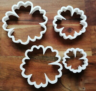 £3.59 • Buy Hibiscus Flower Cookie Cutter Biscuit Dough Pastry Fondant Stencil NA24-27