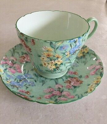 Beautiful Vintage Shelley Melody China Cup And Saucer • 20£